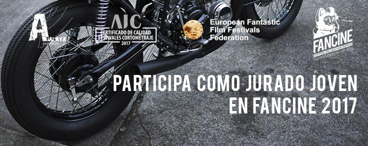 REQUISITOS PARA FORMAR PARTE DEL JURADO JOVEN DEL 27 FANCINE-FESTIVAL […]