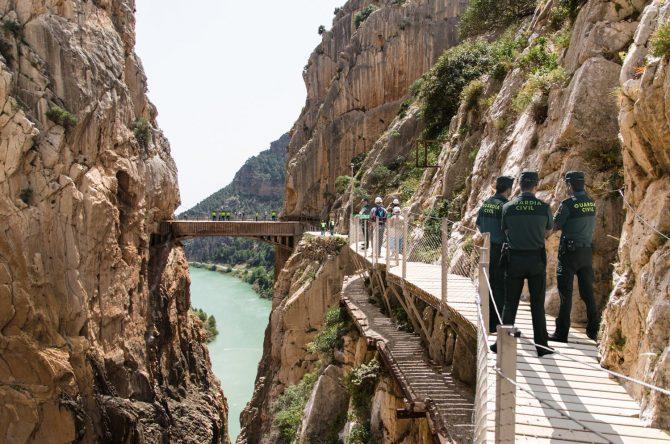 #FanCrimen: Hallan el cadáver de la turista americana en el puente del Caminito del Rey