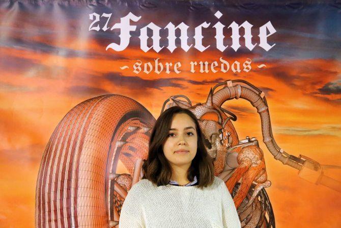 LINA CHAARO, ALUMNA DE INGENIERIA ELECTRÓNICA, GANADORA DEL PRIMER CONCURSO #FanCrimen