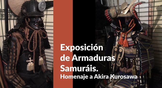 EXPOSICIÓN DE ARMADURAS SAMURÁIS