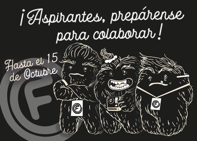 CONVOCATORIA – COLABORADORES FANCINE 2019