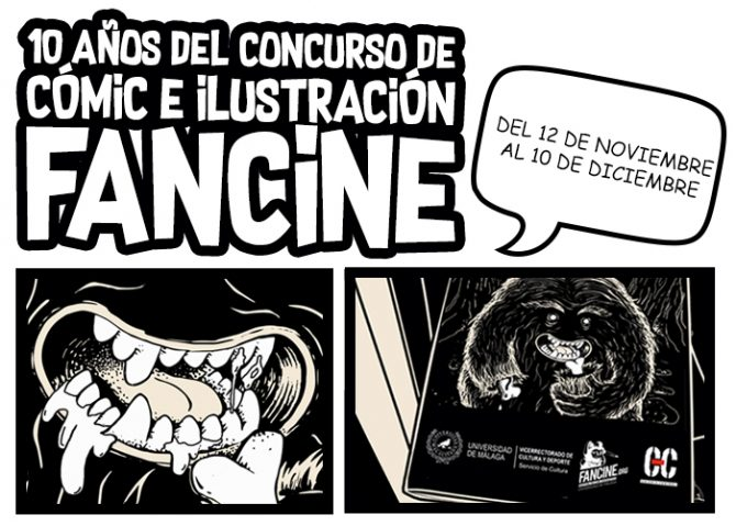 """Exposición """"10 años del Concurso de Cómic e Ilustración Fancine"""""""