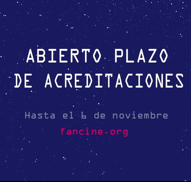 30 FANCINE – ACREDITACIONES PRENSA