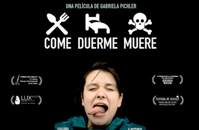 CÓDIGO DE SOLICITUD PARA EL VISIONADO DE 'COME, DUERME, MUERE'